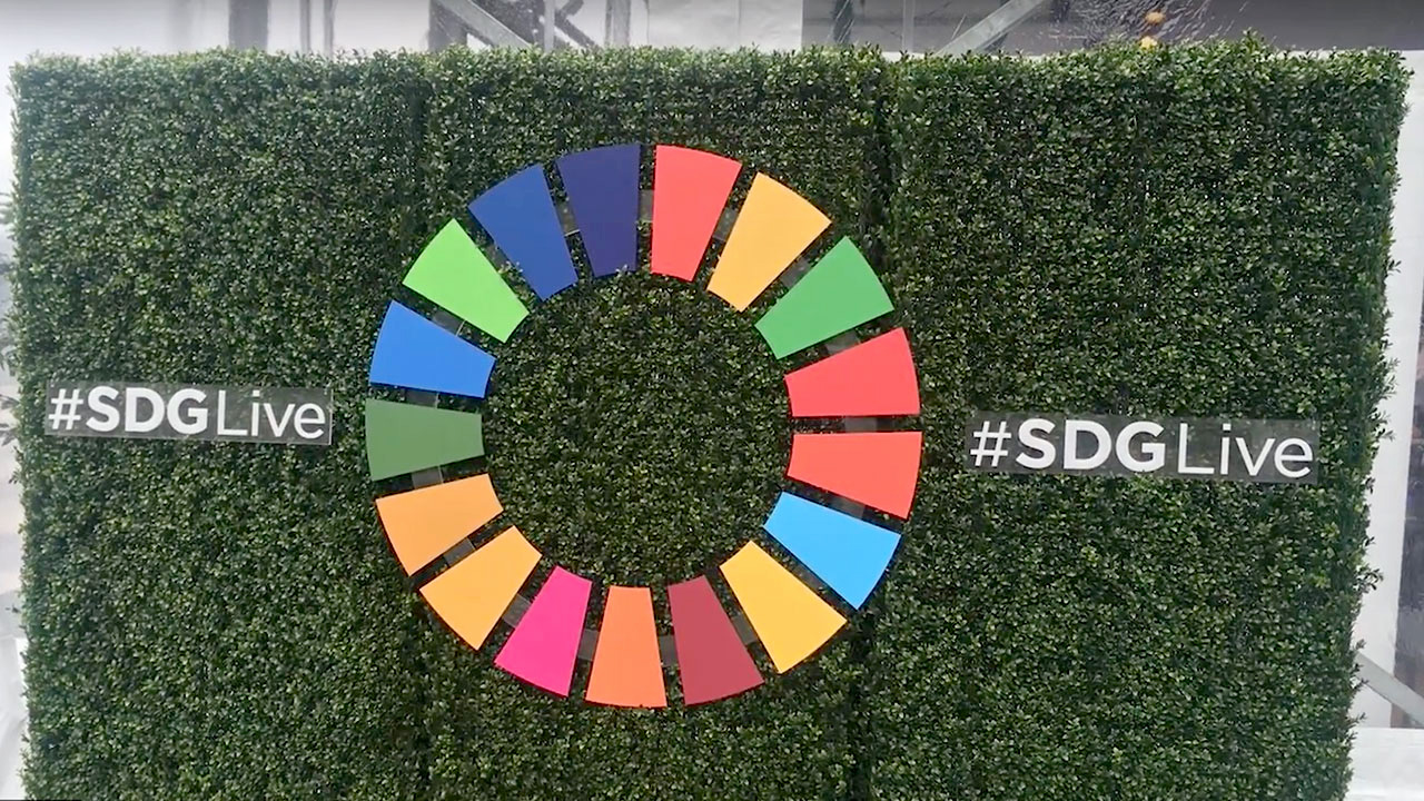 Conversations at the 72nd UN General Assembly's SDG Media Zone
