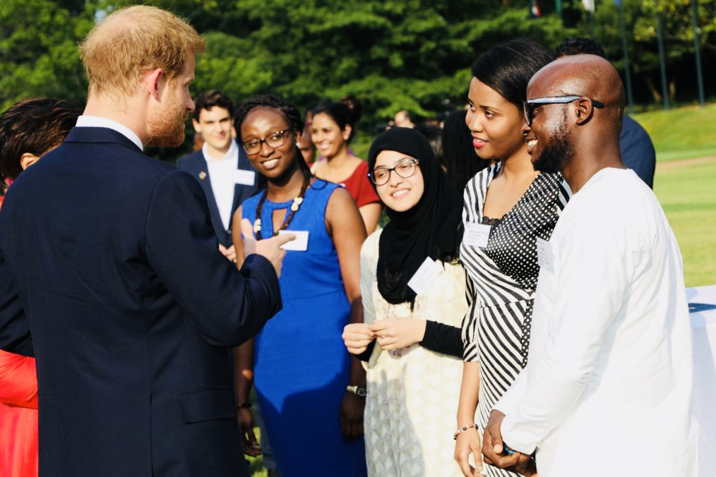Duke and Duchess of Sussex Meet Youth Leaders